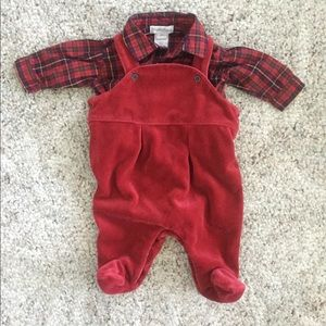 Ralph Lauren Baby Boys Christmas Outfit - 3 months